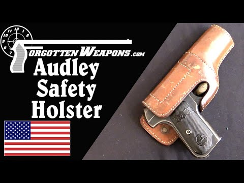 Audley Safety Holster and an OSS Colt 1903