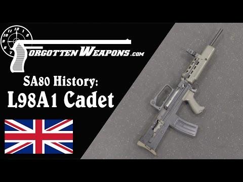 SA80 History: L98A1 Cadet Manually-Operated Rifle