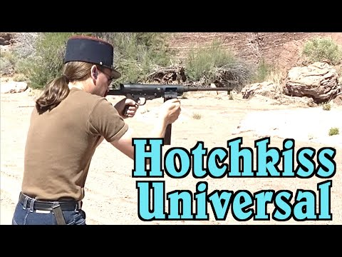 Hotchkiss Universal on the PCC Course of Fire