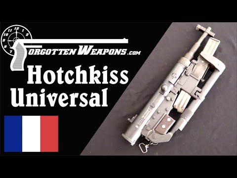 Hotchkiss Universal: The Most Folding Gun Made