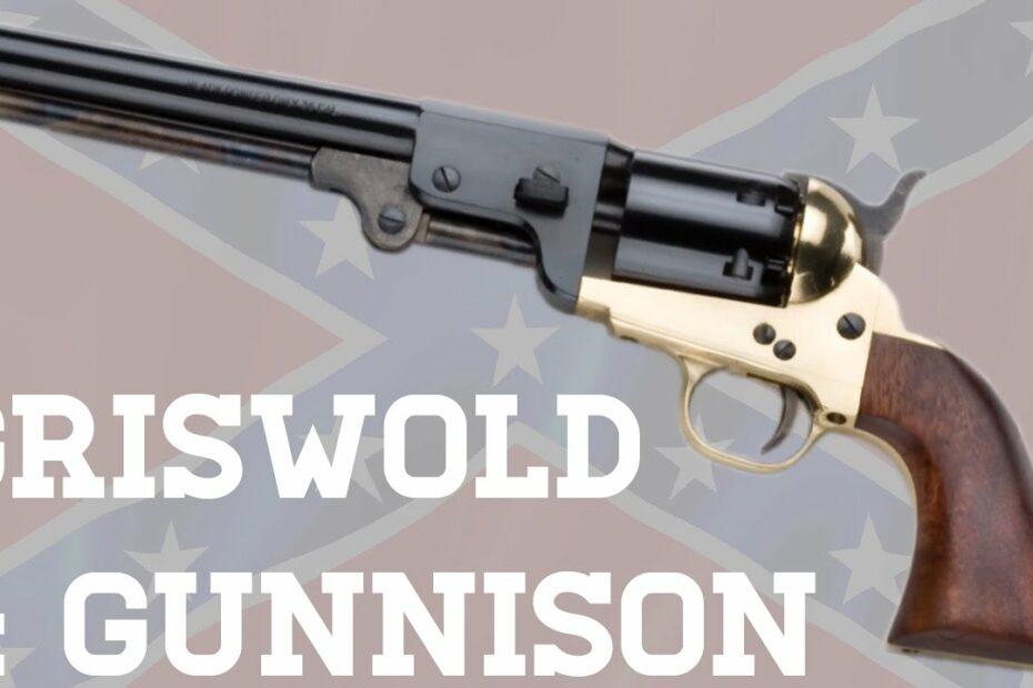 Griswold & Gunnison Revolver