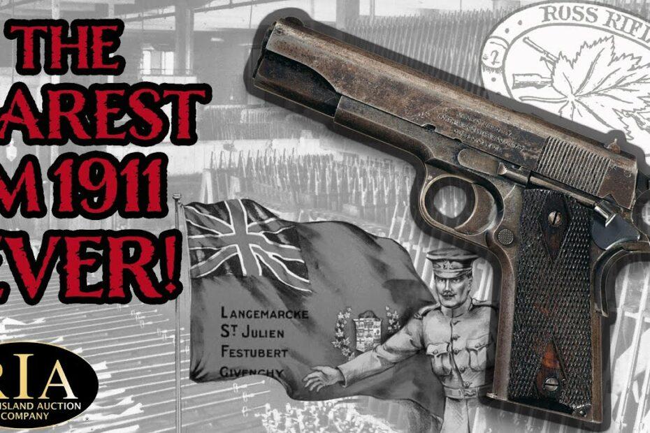 The Rarest M1911 Ever!
