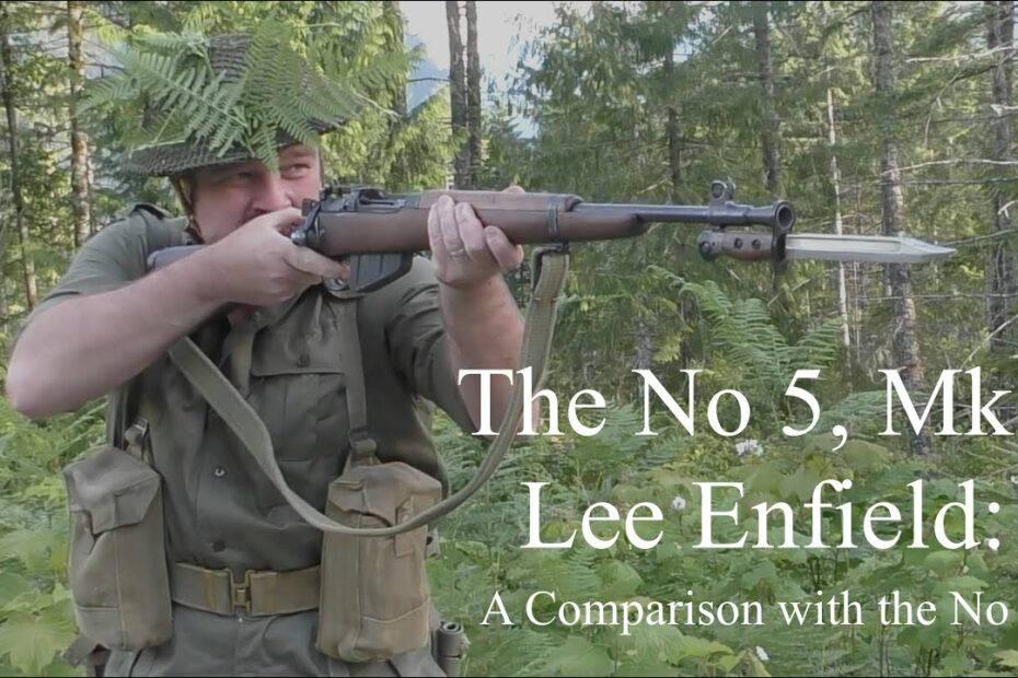 The No 5, Mk I Lee Enfield: A Comparison with the No 4