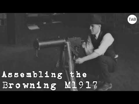 Browning M1917 Assembly