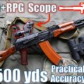AK74n + [RPG Scope] PGO-7v to 500yds: Practical Accuracy