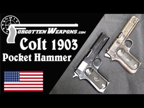 Neither Fish nor Fowl: the Colt 1903 Pocket Hammer