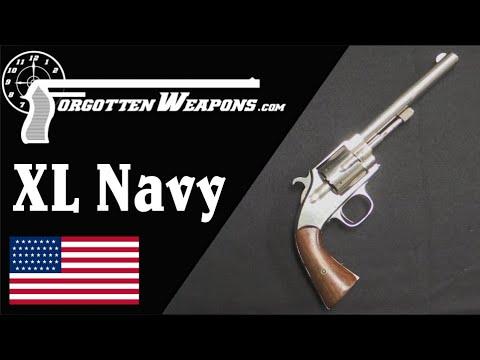 Hopkins & Allen XL Navy Rimfire .38 Service Revolver