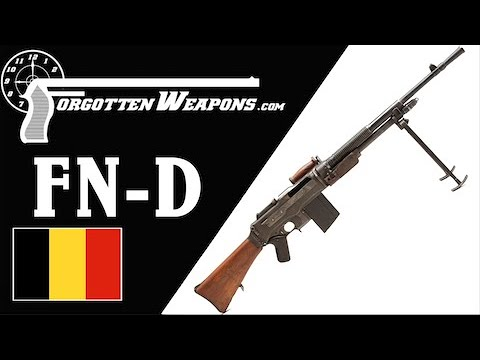 FN Model D: The Last and Best BAR