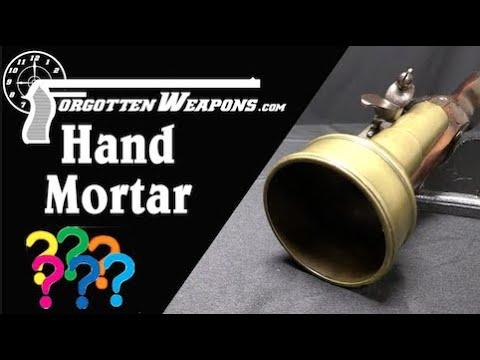 Flintlock Hand Mortar