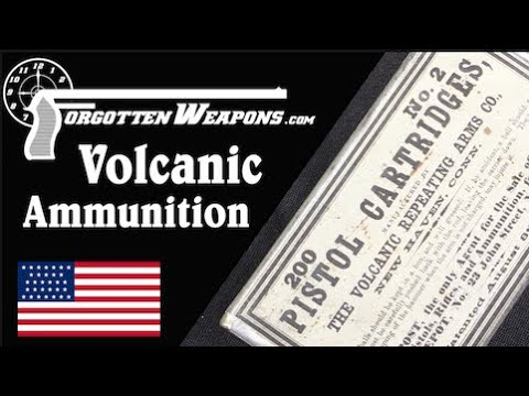 "Original Volcanic ""Rocket Ball"" Cartridges"