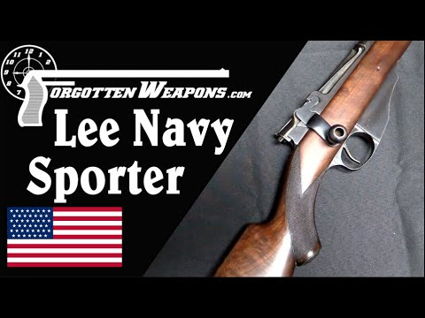 Not Always Bubba: A Factory Sporter Winchester-Lee Navy Rifle