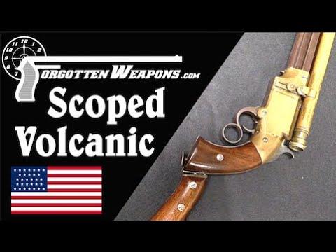 The Coolest Volcanic Ever: A Vintage Scoped Pistol-Carbine