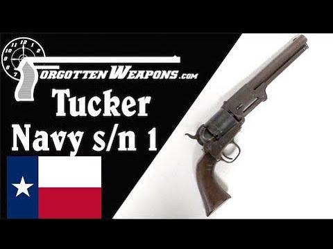 A Texas-Made Civil War Revolver: Tucker Navy Number 1