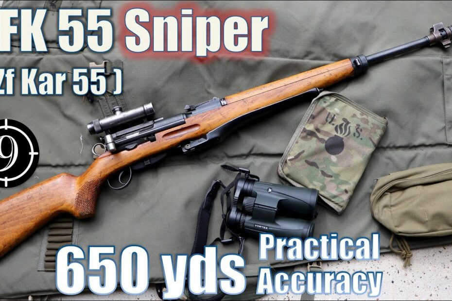 Swiss ZFK55 Sniper Rifle to 650yds: Practical Accuracy (Feat. BOTR…Zf Kar 55 Sniper with GP11ammo)