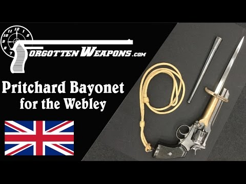 WWI Pritchard Bayonet for the Webley Revolver