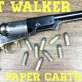 Colt Walker: Shooting Paper Cartridges