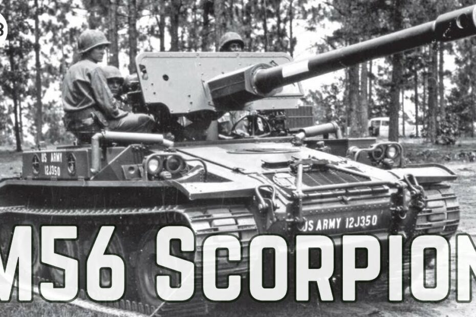 TAB Episode 73: M56 Scorpion – Lightweight Self-Propelled Gun