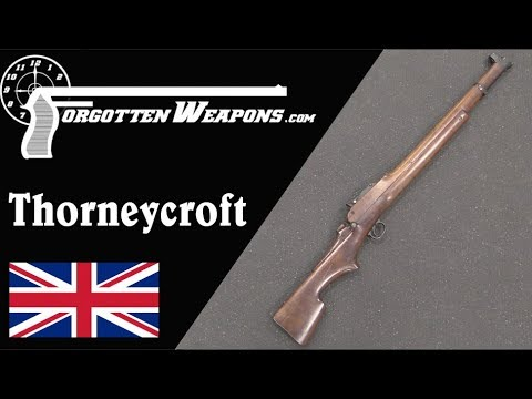 Thorneycroft: A Victorian Bullpup Rifle with Volley Sights