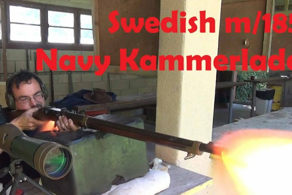 Swedish m/1851 navy kammerlader