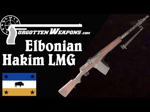 Elbonian Prototype Hakim LMG