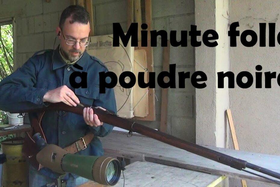"""Défi """"mad minute"""" à poudre noire"""