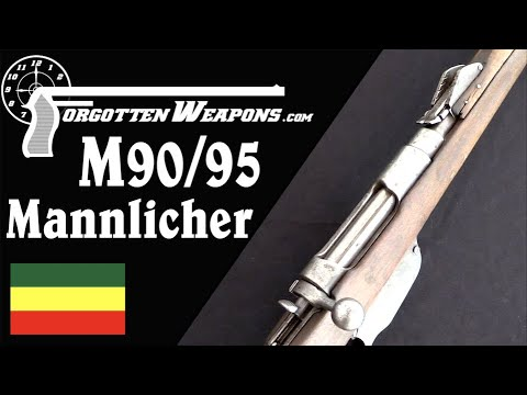 Ethiopian M90/95 Hybrid Mannlicher Carbine