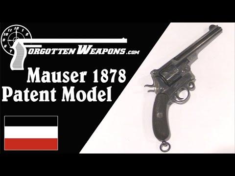 "Mauser ""Zigzag"" Revolver Patent Model and its Unique Cartridge"