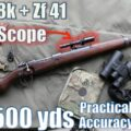 "Kar98k + Zf41 ""DMR"" to 500 yds: Practical Accuracy with ""the real PUBG sniper"" (Feat. InRange TV)"