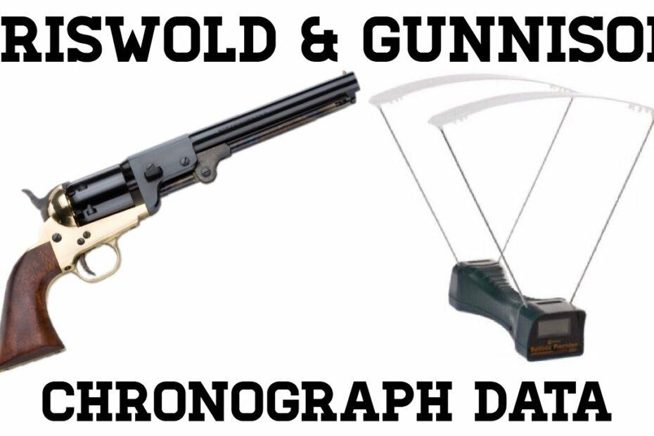 Griswold & Gunnison: Chronograph Data