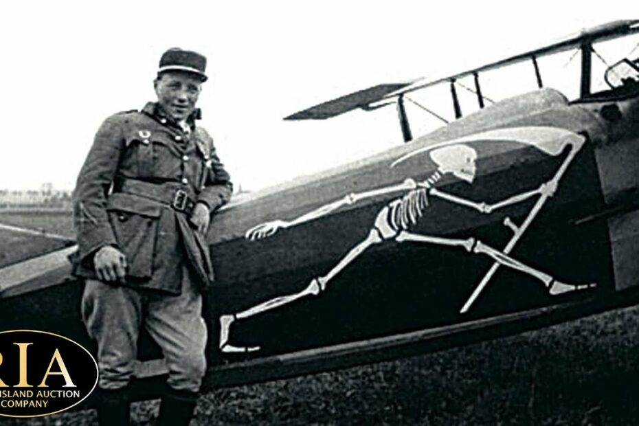 Fighter Pilot Artifacts from the Great War