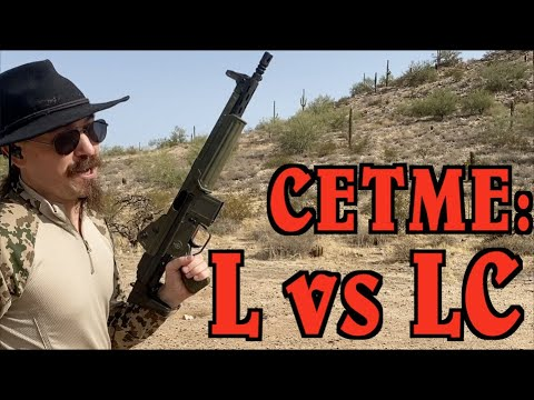 The CETME-L and the CETME-LC at the Range