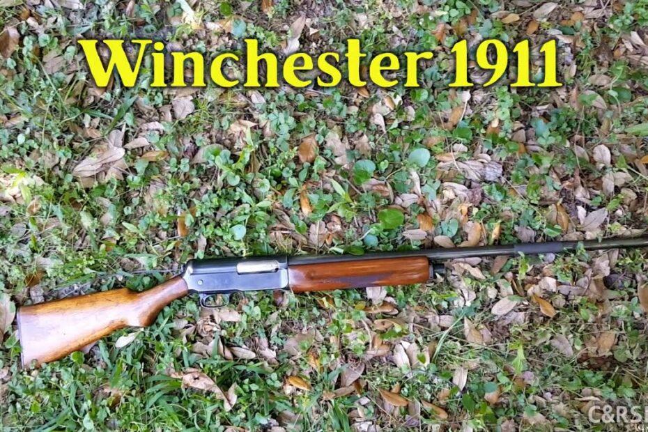 Takedown: Winchester Model 1911