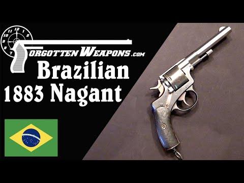 Brazilian 1883 Nagant Revolver: The .44 Henry Rides Again!