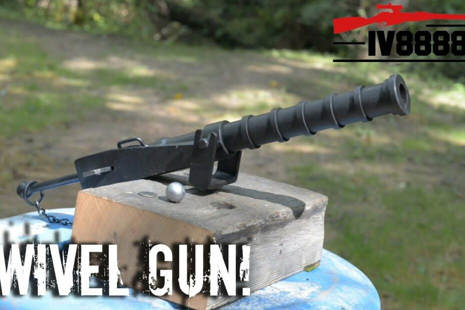 Black Powder Swivel Gun!