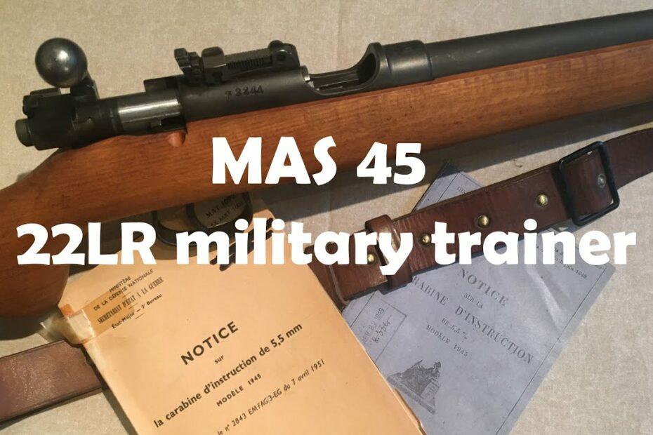 MAS 45 (aka carabine d'instruction modèle 1945)
