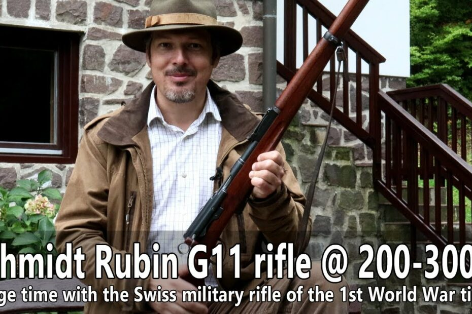Accuracy of the Schmidt-Rubin G11 rifle at 200 and 300 m