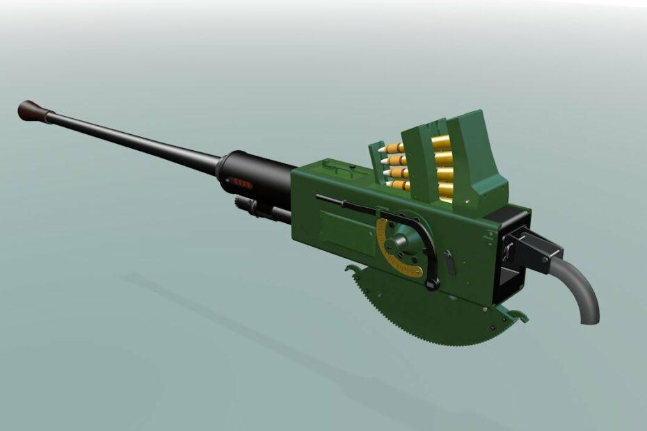 Bofors 40mm Autocannon, Part1