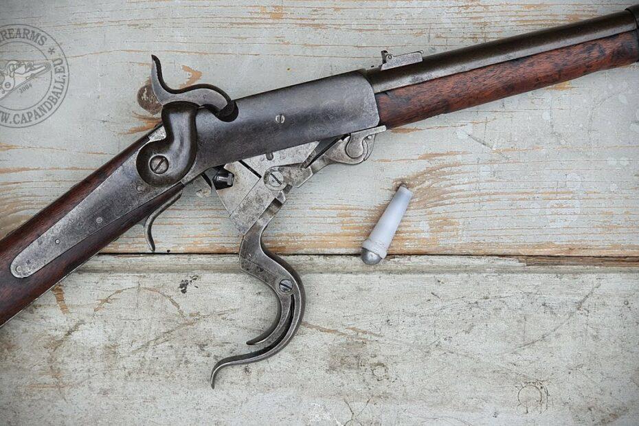 Shooting the Burnside carbine – TEASER
