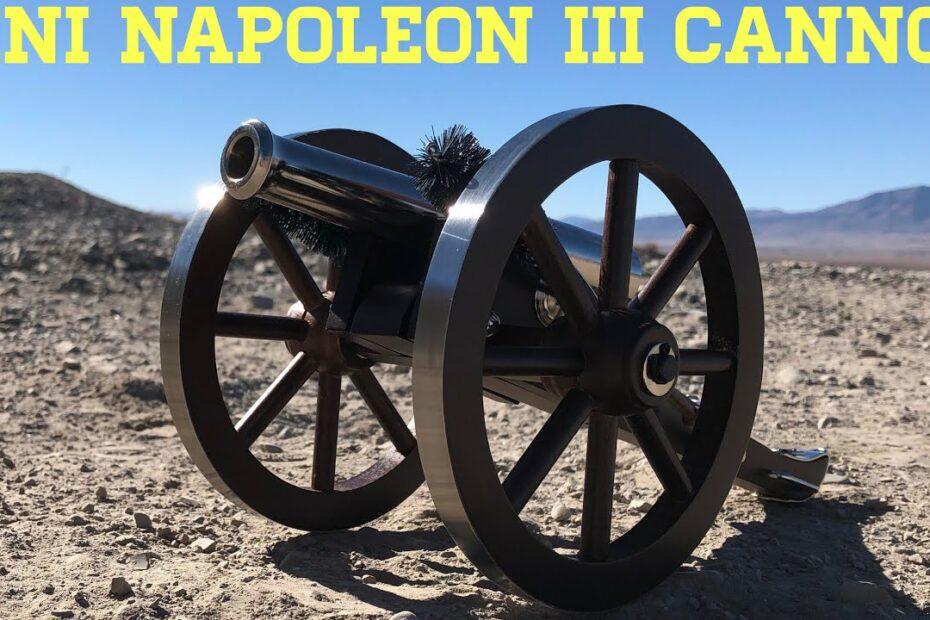 Mini Napoleon III Cannon