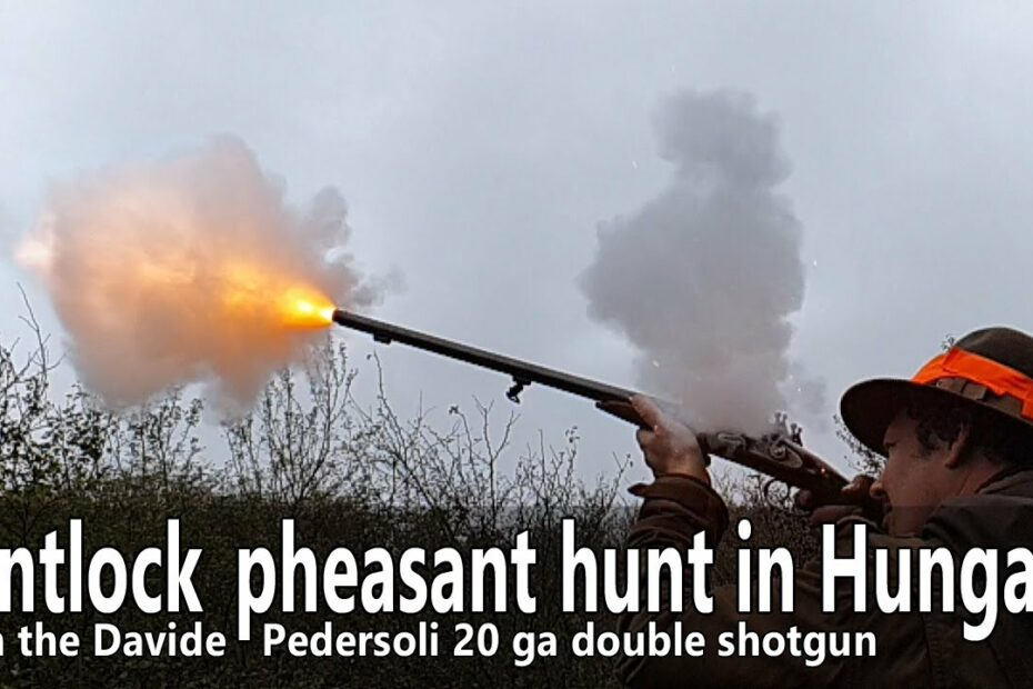 Flintlock driven small game hunt in Hungary