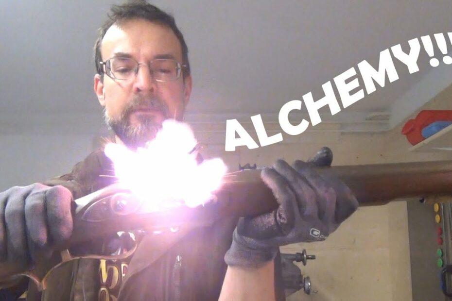 Flintlock frizzen alchemy