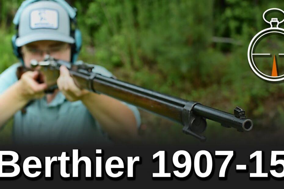 Minute of Mae: Berthier 1907-15