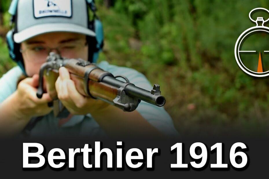 Minute of Mae: Berthier 1916