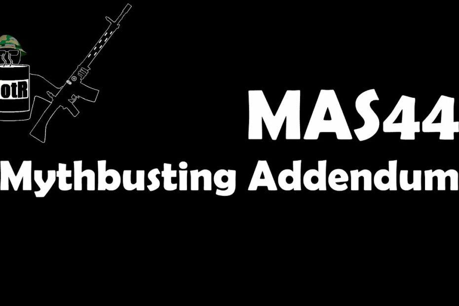 MAS44 Addendum