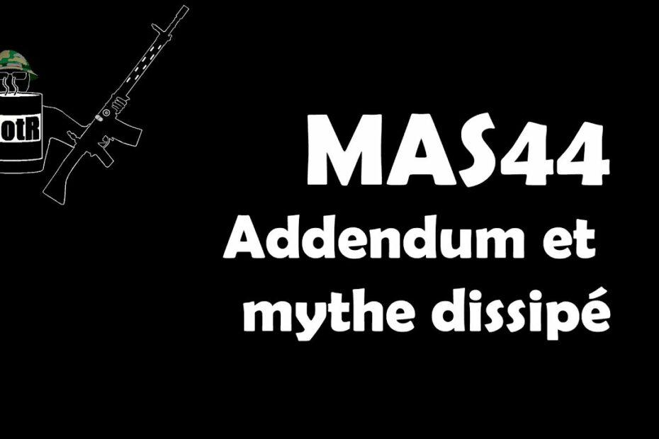 Supplément MAS44