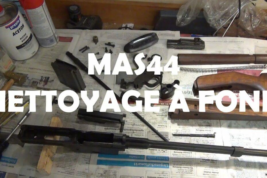 MAS44 – Nettoyage à fond