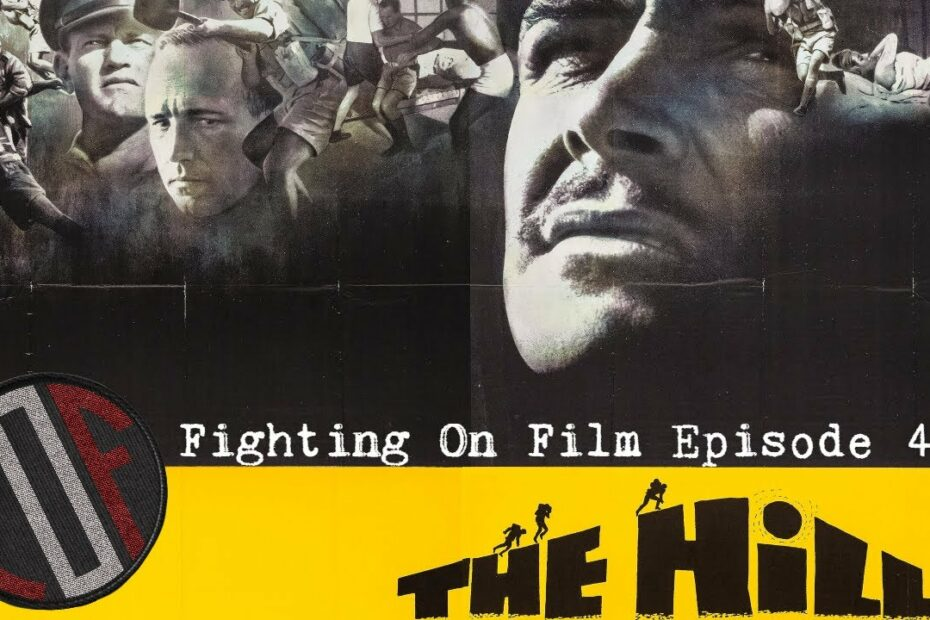 Fighting On Film: The Hill (1965) – Sean Connery – Harry Andrews – Sidney Lumet