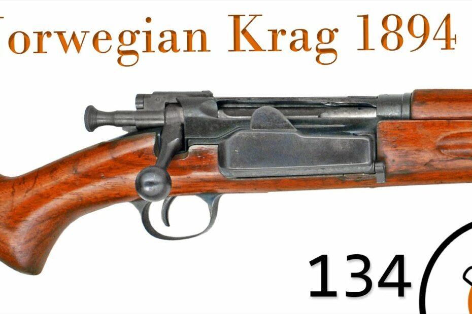 Small Arms of WWI Primer 134: Norwegian Krag–Jørgensen 1894