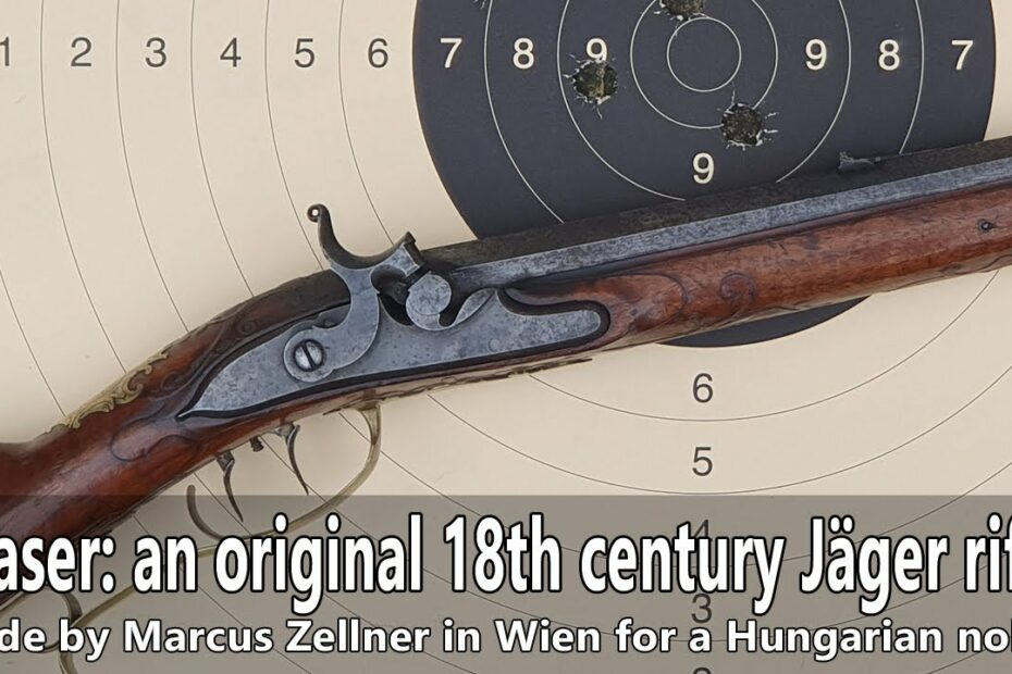 Teaser: Shooting and hunting with an 18th century Jäger rifle
