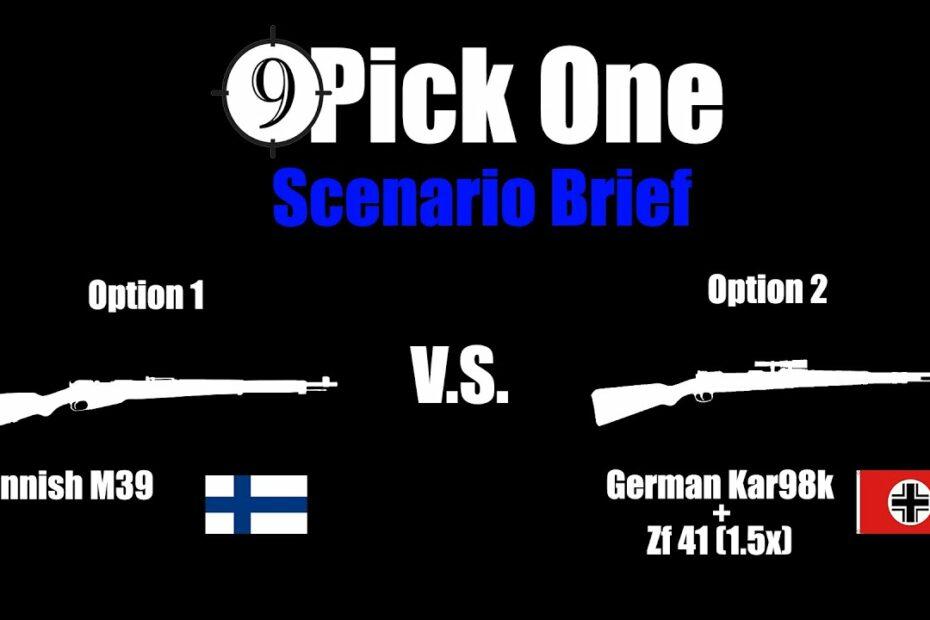 Scenario Brief [Arctic Patrol] Finnish M39 vs. German Kar98k + Zf.41 (Pick One Ep.2)